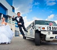 лимузин Hummer H2 на свадьбу (11)
