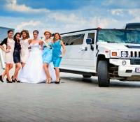 лимузин Hummer H2 на свадьбу (5)