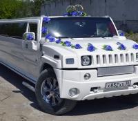 16-1, лимузин хаммер, Hummer, лимузин на свадьбу, украшения для автомобиля, украшения для лимузина, украшения на свадьбу, Воронеж, Лимузин-36