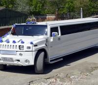 16-3, лимузин хаммер, Hummer, лимузин на свадьбу, украшения для автомобиля, украшения для лимузина, украшения на свадьбу, Воронеж, Лимузин-36