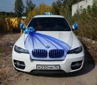 25-1, БМВ, BMW, лимузин на свадьбу, украшения для автомобиля, украшения для лимузина, украшения на свадьбу, Воронеж, Лимузин-36