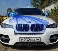 25-2, БМВ, BMW, лимузин на свадьбу, украшения для автомобиля, украшения для лимузина, украшения на свадьбу, Воронеж, Лимузин-36