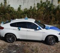 25-4, БМВ, BMW, лимузин на свадьбу, украшения для автомобиля, украшения для лимузина, украшения на свадьбу, Воронеж, Лимузин-36