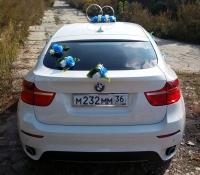 25-6, БМВ, BMW, лимузин на свадьбу, украшения для автомобиля, украшения для лимузина, украшения на свадьбу, Воронеж, Лимузин-36