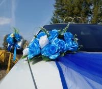 25-7, БМВ, BMW, лимузин на свадьбу, украшения для автомобиля, украшения для лимузина, украшения на свадьбу, Воронеж, Лимузин-36
